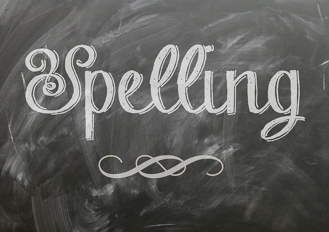 Amerykański vs. brytyjski angielski: pisownia